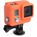 Xsories : Coque en silicone pour Hero3+ Orange
